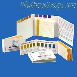 pH papier (3,2 - 5,0) - 25 test strips
