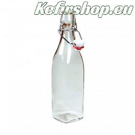 Glazen fles met beugelsluiting 50cl