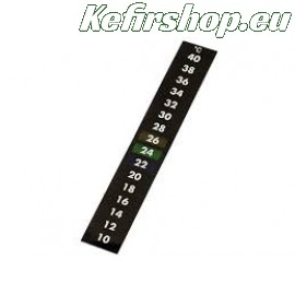 Zelfklevende thermometer strip