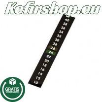 Zelfklevende thermometerstrip +10 tot +40°C