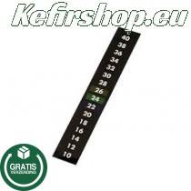 Zelfklevende thermometer strip