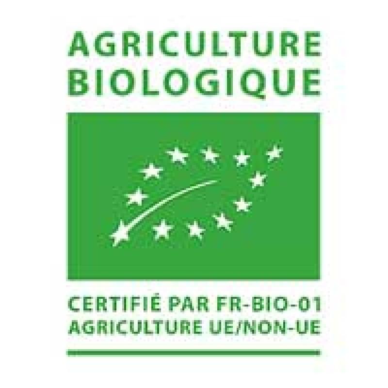 FR-BIO-01: voor producten die in Frankrijk zijn gecertificeerd door Ecocert France SAS