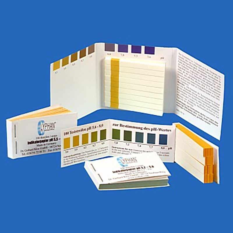 Lakmoes papier test strips pH 3.2-5.0