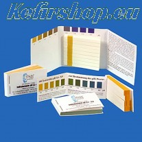 pH test strips (3,2 - 5,0) - 25 pieces