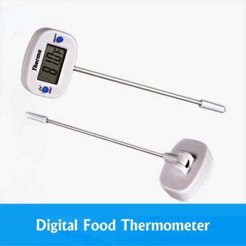 Monitor the temperature while making yogurt