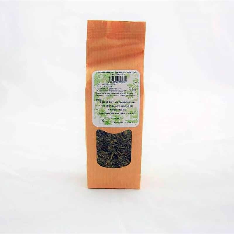 Organic green tea whole leaves 200g