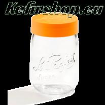 Le Parfait Einmachglas 1 Liter mit Schraubdeckel