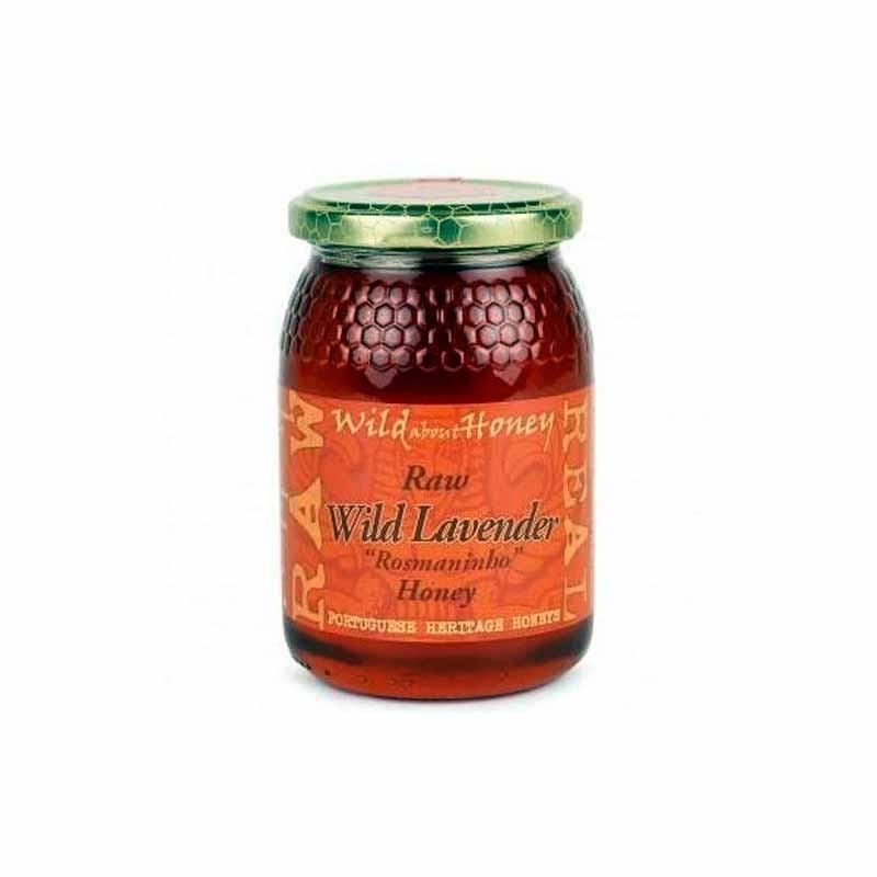 Roher Honig - Wild Lavendel 500g