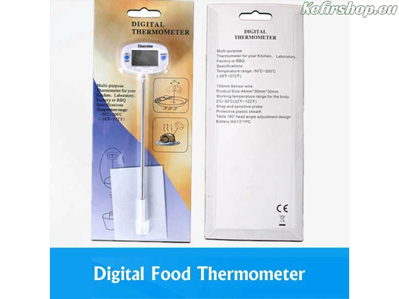 Digitale thermometer - voeding