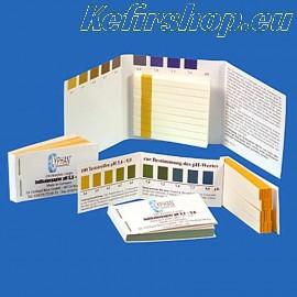 pH papier om de zuurtegraad te meten