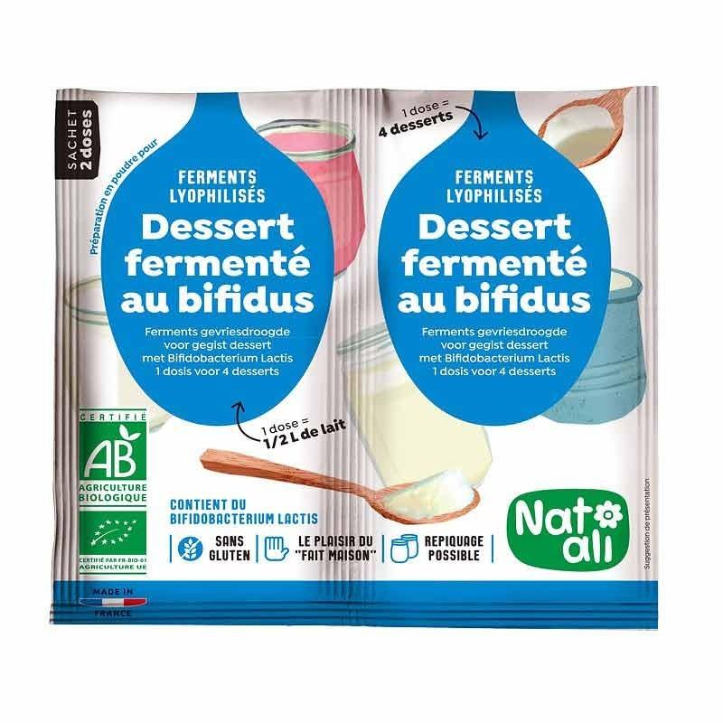 Bifidus yaourt ferment - Culture lyophilisée pour faire du yaourt Bifidus délicieux, naturel et vivant à la maison.