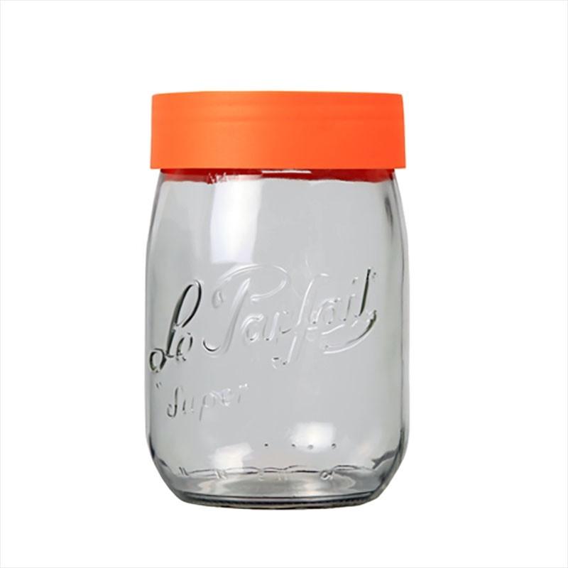 Pot en verre Le parfait avec bouchon à vis 1 litre