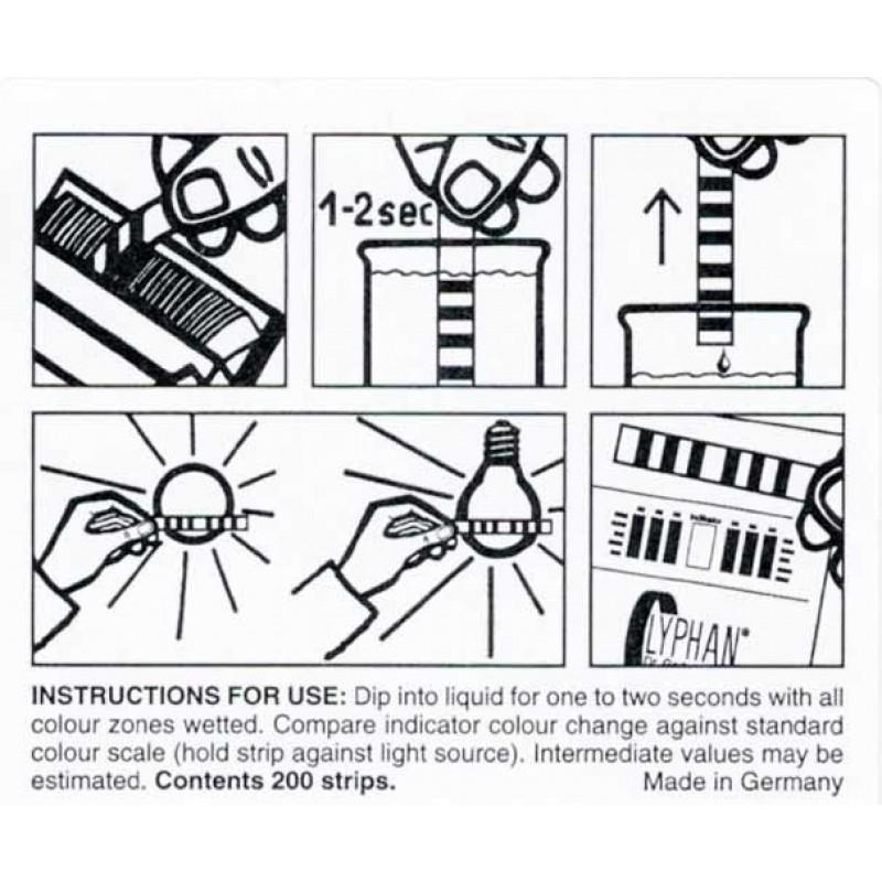Papier indicateur spécial - instruction