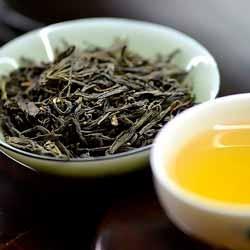 Losse groene thee om kombucha jun thee te maken