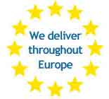 Delivery across Europe